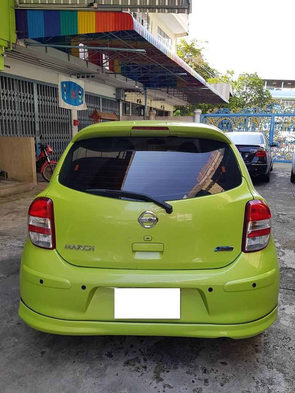 ขายรถเก๋ง Nissan March  2011 เขต ยานนาวา จังหวัด กทม. รูปที่ 2