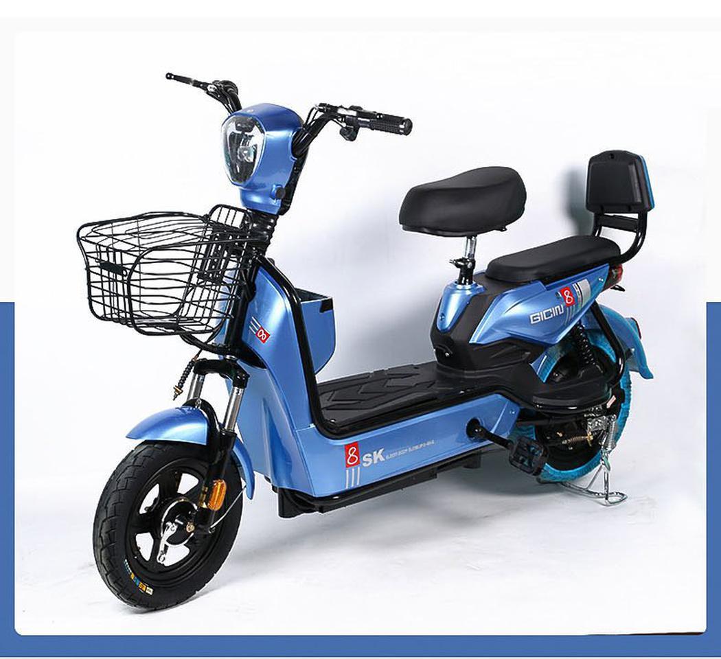 💥(จำนวนจำกัด)รถไฟฟ้า จักรยานไฟฟ้ารุ่นอัพเกรด  มีที่ปั่น มอเตอร์48V เหมาะสำหรับขับในเมือง มี 4 สี รูปที่ 4