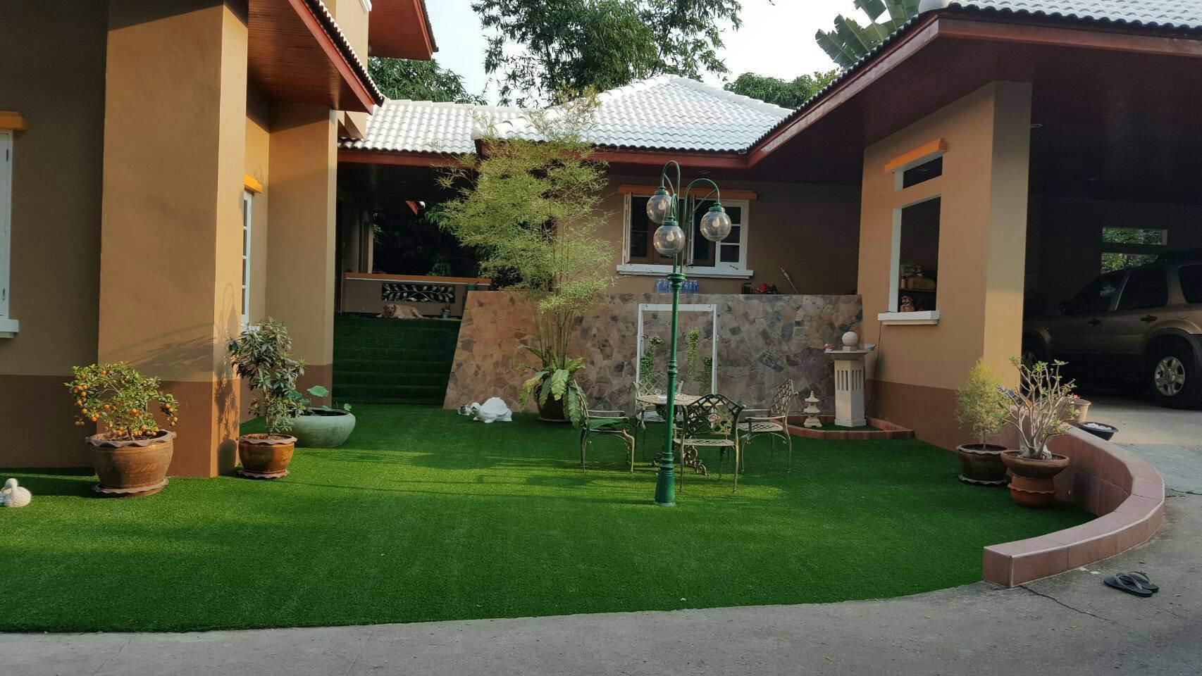 หญ้าเทียมตกแต่ง รูปที่ 2