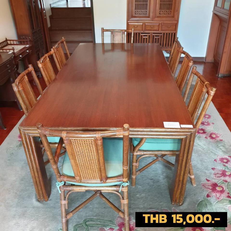 ชุดโซฟา  ตู้   ชั้น  โต๊ะรับประทานอาหาร รูปที่ 6