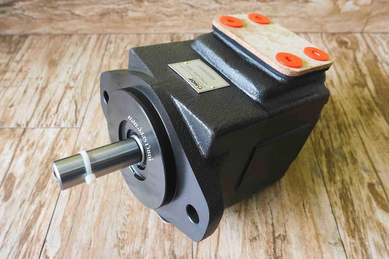 ปั๊มใบพัดแรงดันสูงตอนเดี่ยว และแบบสองตอน (vane pump) ปั๊มแรงดันสูงยี่ห้อ HOF รูปที่ 1