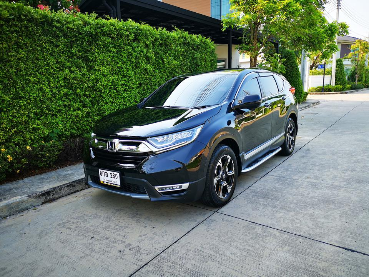 ขายรถ Honda CR-V 1.6 EL ปี 2019 สีดำ รุ่นท๊อปสุด เครื่องยนต์ดีเซล 4WD มือเดียว สภาพป้ายแดง รูปที่ 1