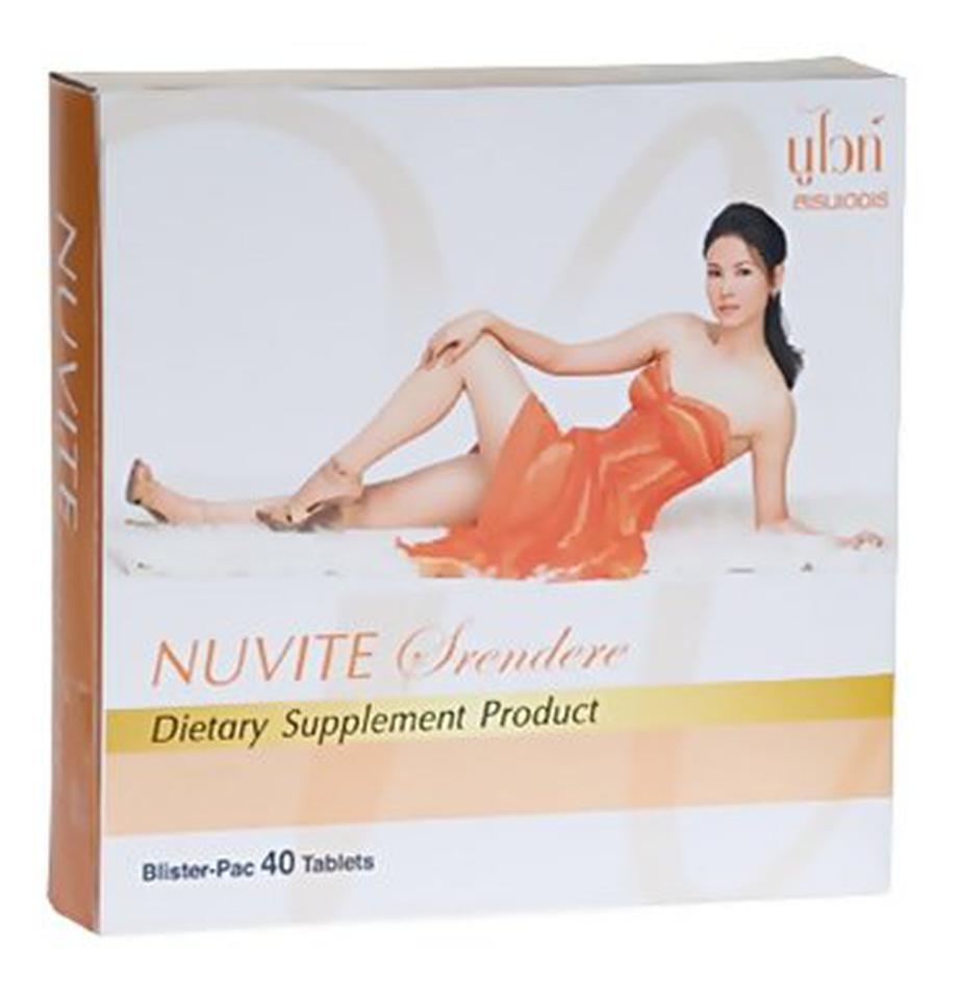 อาหารเสริม นูไวท์ สเรนเดอเร่ Nuvite Srendere ช่วยกระชับต้นแขน ต้นขา หน้าท้องแบนเรียบ ดักจับไขมันสัตว์ คาร์โบไฮเดรต และแป รูปที่ 2