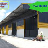 : MTK008 โกดังให้เช่า/โรงงานให้เช่า ถนนบ้านกล้วย-ไทรน้อย อ.บางบัวทอง จ.นนทบุรี