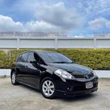 141 Nissan Tiida 1.6 G Hatchback 2008 สีดำ AT