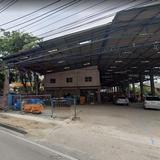 Cb240 ให้เช่าที่ดินทำเลดีพร้อมอาคาร 2 ชั้น ใกล้MRTแยกนนทบุรี1 ติดถนนรัตนาธิเบศร์