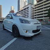 ขายรถมิตซู mirage ปี2012 ตัวท็อป มีairbagรถ 8 ปีวิ่งน้อย