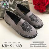 รองเท้าคัทชู สไตล์ kenzo วัสดุผ้าชามัว สวย นิ่ม ใส่สบายมากค่ะ