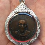 เหรียญฉลองใปตราตั้งปี19พระคูรวรพรตพร้อมใช้ตะลับเงินแท้ๆ