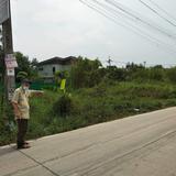 ขายที่ดิน 278 ตารางวา หน้ากว้างยาวติดถนนคอนกรีต ทำเลดี ใกล้ถนนหทัยราษฏ์ สายไหม ตลาดวงศกร