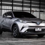 Toyota CHR 1.8 HV Mid ปี 2019 เลขไมล์ 30,000 กิโล