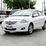 รถบ้าน สภาพนางฟ้า ปี 2010 TOYOTA  VIOS 1.5G Auto สีขาว
