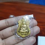 เหรียญหลวงพ่อรวยไตรมาส5995 เนื้อทองทิพยฺ