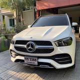 ขายรถบ้านแท้  BENZ GLE 350 d 4 Matic  ปี 2020 สีขาว ชุดแต่ง AMG