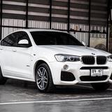 BMW X4 2.0 M Sport เบนซิน ปี 2019 สีขาว รุ่น Top สุด M Sport แท้ จากศูนย์ BMW