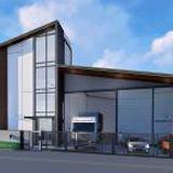 ขาย โกดัง พร้อมออฟฟิต Factory Yard ลำลูกกา (โรง C) #โกดังโรงงานสไตล์โมเดริน์