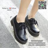 รองเท้าคัชชูเสริมส้น Style Dr.Martens สุดเกร๋ หนังนิ่ม สูง 2 นิ้ว