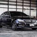 Benz C Coupe 1.6 AMG ปี 2014 สีดำ