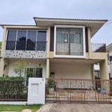 67261 - ขาย บ้านเดี่ยว 2 ชั้น เนื้อที่ 55.2 ตารางวา หลังมุม หมู่บ้าน บุราสิริ ท่าข้าม-พระราม 2