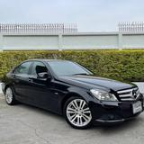49 Benz C200 CGI Facelift  ปี 2013 รถมือเดียว