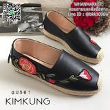 รองเท้าคัทชู gucci leather งานเกรด AA พื้นหนา หนังสวย