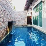 Rent and Sale The villa Jomtien Pool villa 3 beds with smallest private pool Pattaya Jom Tien beach
