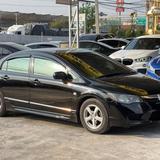 06 Honda Civic 1.8s MNC FD ปี 08 สีดำ เกียร์ออโต้