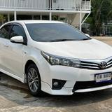 62 Toyota Altis 1.6 E (CNG) ปี 2014 สีขาว เกียร์ออโต้
