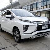 Mitsubishi Xpander 1.5 GT เกียร์ AT ปี 2019 สีขาว ฟรีดาวน์ ออกรถ 0 บาท