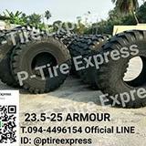 ยางรถตักขนาด  23.5-25  ARMOUR  สามารถติดต่อสอบถามรายละเอียดเ