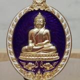 #เหรียญบัลดาลทรัพย์ # #หลวงพ่อสำเร็จศักดิ์สิทธิ์ วัดหนองสะเดา จ.สระบุรี# ~เนื้ออัลปาก้าลงยา 599._บาท