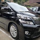 ขายรถ Toyota VELLFIRE Hybrid E-Four ปี 2014   (2.4z  Mickey Mouse) สีดำ