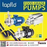 ปั๊มเกรดอาหาร ปั๊มสำหรับดูดอาหาร และเครื่องดื่ม Hygienic pumps, Sanitary pumps