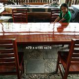 โต๊ะอาหาร + พร้อมเก้าอี้ 4  ตัว