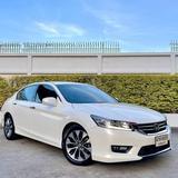 104 Honda Accord G9 2.4 EL TOP 2015 สีขาว AT