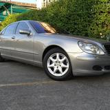 Benz S280 L 2004 ประวัติศูนย์ 170000กม ไม่เคยติดแก๊ส ถุงลมปกติด ไฟฟ้าใช้งานได้ดี