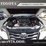 🚩 TOYOTA FORTUNER 2.8 V 4WD/NAVI   ปี 2015