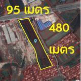 ขายที่ดิน 28 ไร่ 37.6 ตารางวา ติดถนนสาย 345 (ถนนสะพานนนทบุรี - บางบัวทอง)