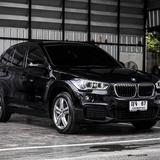 รุ่น Top สุด X1 ดีเซล M Sport ปี 2017 สีดำ BMW X1 S Drive 1.8d ดีเซล