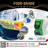 ปั๊มเติมสารถนอมอาหาร ปั๊มโดสสารละลายความแม่นยำสูง สำหรับอุตสาหกรรมอาหาร