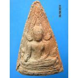 215 พระพุทธชินราชเนื้อดิน หลังใบโพธิ์ พระพุทธชินราชเนื้อดิน