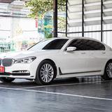 BMW Series 7 730 Ld เครื่องดีเซล ปี 2019 สีขาว เลขไมล์ 30,000 กิโล ( รับประกันเลขไมล์แท้ )