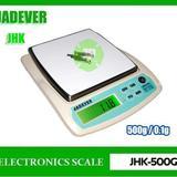 เครื่องชั่งดิจิตอล เครื่องชั่ง ละเอียด500g ละเอียด0.1g ยี่ห้อ JADEVER รุ่น JKH-500