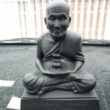 พระบูชา หลวงปู่ทวด วัดช้างให้ หน้าตัก4-5นิ้ว ปี2536 นิยมเหรียญขีด รับประกันแท้ เก๊คืนเต็ม