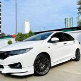 112 Honda City 1.5 V 2016 สีขาว AT