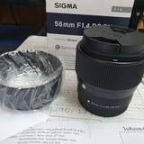 Sigma Lens 56 mm. F1.4 DC DN Canon EF-M