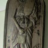 เหรียญพิมพ์ยืน หลวงปู่คำแสน สุนันโท วัดท่าแหน จ.ลำปาง         ปลุกเสกโดย  เกษม เขมโก สุสานไตรลักษณ์ จ.ลำปาง ปี๒๕๒๔