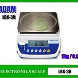 เครื่องชั่งตั้งโต๊ะ เครื่องชั่งดิจิตอล ตาชั่งดิจิตอล3kg ะเอียด0.1g ยี่ห้อ ADAM รุ่น LBX-3H