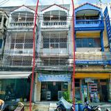 ขายตึกแถวทำเลค้าขาย หมู่บ้านดี เค เอกชัย บางบอน