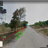 **ลดราคา**ขายที่ดินเปล่า (11-0-41)  ที่ดินติดถนนทั้งด้านหน้า